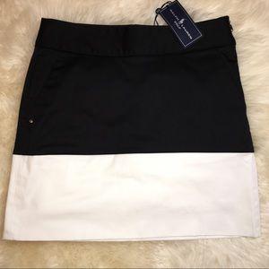 NEW Ralph Lauren Golf Skort Black/White size 0